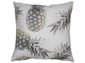 Coussin gris ananas