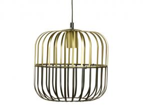 Metal ceiling lamp