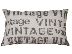 Vintage lead cushion