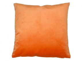 Coussin Velours Orange