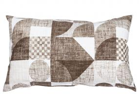 Brown Damero Cushion