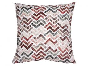 Damero cushion. Red