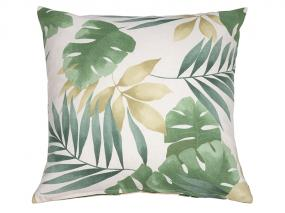 Bohemian green cushion