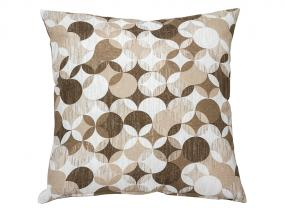 Sonia c.beige Throw Pillow