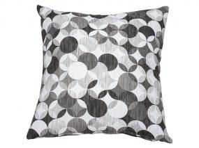 Sonia c. Gray Throw Pillow