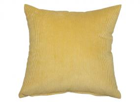Mustard corduroy cushion 45x45