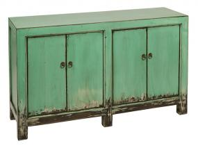 Green sideboard 2 doors