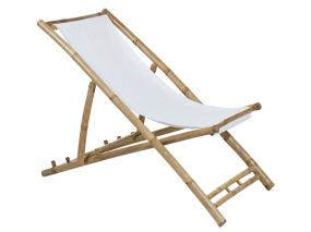 Chaise bamboo