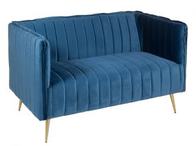 Sofa blue art