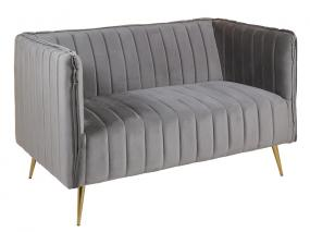 Gray art sofa