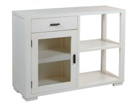 Console 1 white drawer