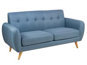 Blue 3 seater sofa Nor
